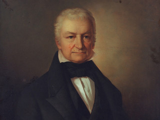 Painting of Johann Jacob von Uckermann