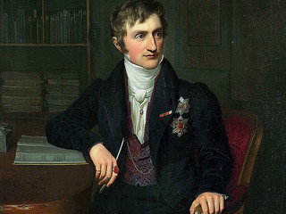 Prince John; painting by Carl Christian Vogel von Vogelstein
